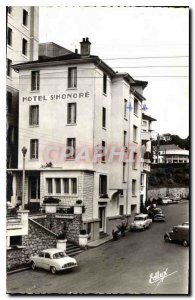 Postcard Old Hotel Saint Honore Rue Sainte and the prolonged Place Reine Astrid