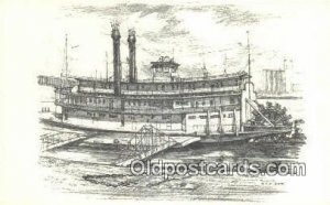 River Boat Series, The Becky Thatcher, St Louis, Missouri, MO USA Steam Ship ...