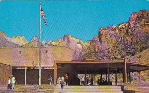 Utah Zion National Park The Visitors Center