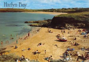 Cornwall Postcard, Harlyn Bay Near Padstow by J. Salmon Ltd S40