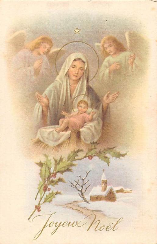 Image De Noel Jesus.Joyeux Noel Happy Christmas Virgin Mary Baby Jesus