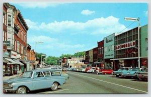 South Haven Michigan~MacDonald Walgreen~Ben Franklin~1950s Station Wagon~Cars