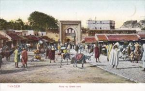 Morocco Tanger Porte du Grand soko