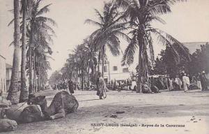Senegal Saint Louis Repos de la Caravane
