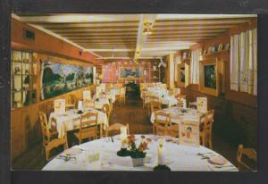 Bavarian Room,Chalet Inn,Barrington,MA Postcard