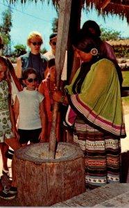 Florida West Hollywood Seminole Okalee Indian Village & Crafts Center Seminol...