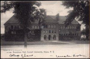New York ITHACA Boardman Hall Cornell University - pm1909 - Und/B