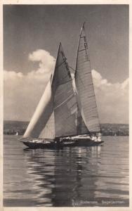 RP, Sailboat, Segeljachten, Bodensee, 1920-1940s