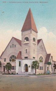 SANTA CRUZ , California , 00-10s ; Congregational Church