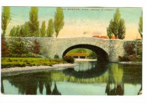 The Bridge in Fenway,  Boston,  Massachusetts,  PU-1910