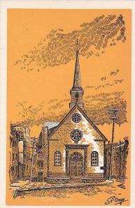 Notre-Dame de la Victoire , Quebec , Canada , 50-60s
