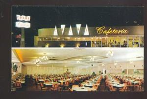 PASADENA CALIFORNIA ROUTE 66 CROWN CAFETERIA MULTI VIEW OLD POSTCARD