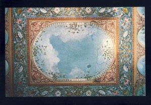 Proctor, Vermont/VT Postcard, Wilson Castle, Precenium Frescoed Ceiling