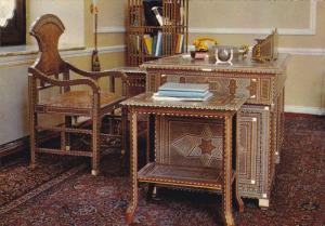 Interior , Marmar Palace , TEHRAN ,  IRAN , 50-70s : Desk