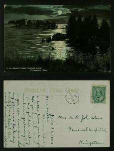 Thousand Islands In the admiralty group moonlight  c 1908