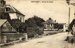 CPA BEUVRON - Route de DIVES (383178)