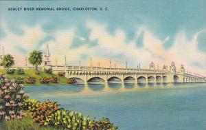South Carolina Charleston Ashley River Memorial Bridge