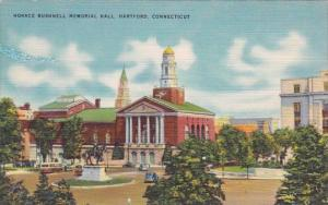 Horace Bushnell Memorial Hall Hartford Connecticut