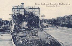 Minneapolis , Minnesota , 00-10s ; Flower Garden at Hennepin & Lindale Avenue
