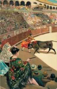 Spain Bullfighting Estocada a Volapie 01.79