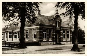 CPA Gieten Gemeentehuis NETHERLANDS (728982)