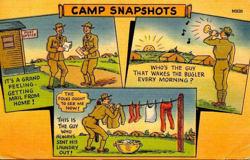 Military Humor - Camp Snapshots