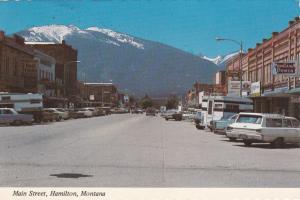 Main Street , HAMILTON , Montana , 50-70s