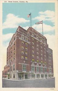 Hotel Easton, Easton, Pennsylvania, 1910-1920s