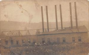 D63/ Occupational RPPC Real Photo Postcard c1910 Factory Crew Construction 12