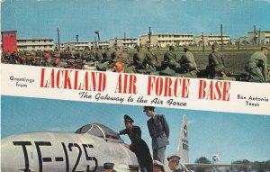 SAN ANTONIO, Texas, PU-1961; Lackland Air Force Base