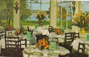 New York Mamaronack Yacht Basin From Garden Room Of Washington Arms Restauran...