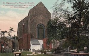 Ireland Dublin St Werburgh's Church