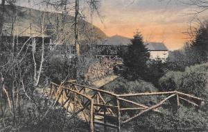 Northern Ireland Glenariff, Tea House, Small Bridge
