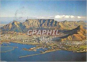 Modern Postcard Cape Town from the air