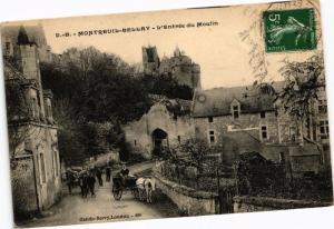 CPA MONTREUIL-BELLAY - L'Entrée du Moulin (207312)