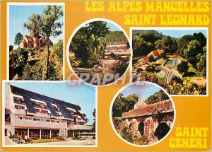 Postcard Modern Saint Leonard Saint Ceneri Alps Mancelles