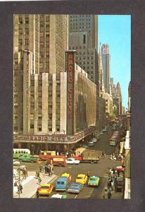 NY Radio City Music Hall Rockettes Dancers New York City NYC Postcard