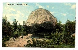 RI - Woonsocket. Cobble Rock