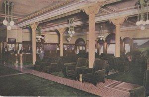 PORTLAND , Oregon , 00-10s Lobby, The Portland Hotel
