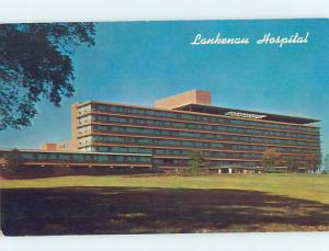 Unused Pre-1980 LANKENAU HOSPITAL ON THE MAIN LINE Philadelphia PA d5221
