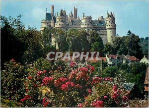 Modern Postcard Chateau de Pierrefonds Oise In 1857, as Napoleon entrusted to...