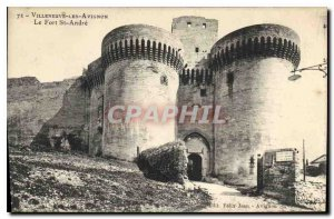 Old Postcard Villeneuve Avignon The Fort St Andre