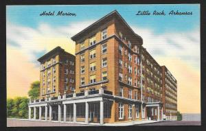 Hotel Marion Little Rock AR unused c1940's