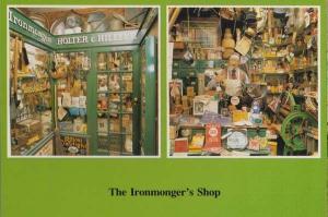 Ironmonger Ironmongers Garden Shoe Animal Shop Eastbourne Sussex Rare Postcard