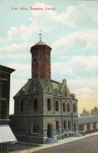TRENTON , Ontario , Canada , 1900-10s ; Post Office