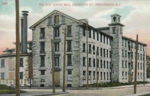 PROVIDENCE , Rhode Island , 1900-10s ; White Mill