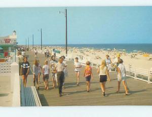 Pre-1980 SNACK BAR ON BOARDWALK AT BEACH Rehoboth Beach Delaware DE M6737@