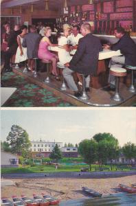 Manoir Du Lac , St. Gabriel de Brandon , Quebec , Canada , 40-60s : bar