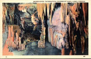 Virginia Caverns Of Luray Sacred River 1941