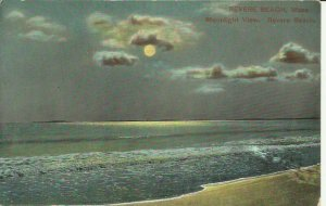 Revere Beach, Mass. Moonlight View, Revere Beach